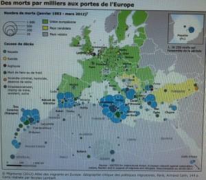 Des milliers de morts aux portes de l'Europe