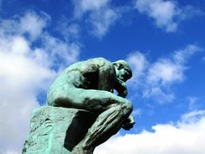 Le penseur de Rodin 1